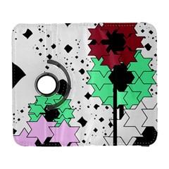 Star flowers       Samsung Galaxy Note II Flip 360 Case by LalyLauraFLM