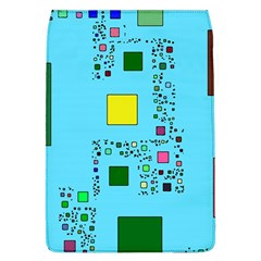 Squares On A Blue Background      Samsung Galaxy Grand Duos I9082 Hardshell Case by LalyLauraFLM