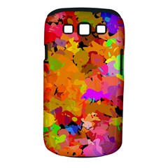 Colorful shapes       Samsung Galaxy S II i9100 Hardshell Case (PC+Silicone) by LalyLauraFLM