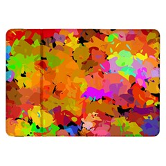 Colorful Shapes       Samsung Galaxy Tab 10 1  P7500 Flip Case by LalyLauraFLM