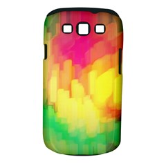 Pastel shapes painting      Samsung Galaxy S II i9100 Hardshell Case (PC+Silicone) by LalyLauraFLM