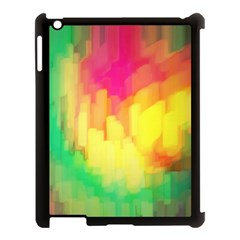 Pastel Shapes Painting      Apple Ipad Mini Hardshell Case (compatible With Smart Cover) by LalyLauraFLM