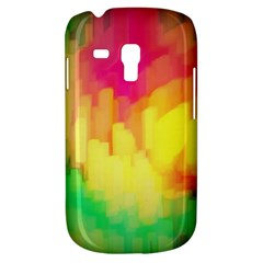 Pastel shapes painting      Samsung Galaxy Ace Plus S7500 Hardshell Case by LalyLauraFLM