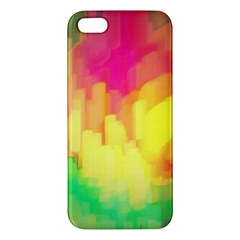 Pastel Shapes Painting      Samsung Galaxy Note 3 Leather Folio Case by LalyLauraFLM