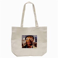 Shitfaced Tote Bag (cream) by RakeClag