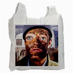 Shitfaced Recycle Bag (one Side) by RakeClag