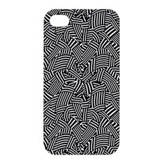 Modern Intricate Optical Apple Iphone 4/4s Hardshell Case by dflcprints