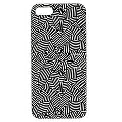 Modern Intricate Optical Apple Iphone 5 Hardshell Case With Stand by dflcprints
