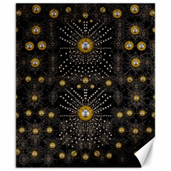 Lace Of Pearls In The Earth Galaxy Pop Art Canvas 20  X 24   by pepitasart