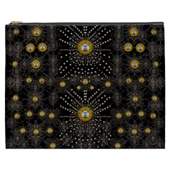 Lace Of Pearls In The Earth Galaxy Pop Art Cosmetic Bag (xxxl)  by pepitasart