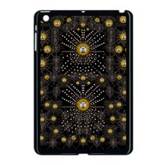 Lace Of Pearls In The Earth Galaxy Pop Art Apple Ipad Mini Case (black) by pepitasart