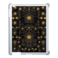 Lace Of Pearls In The Earth Galaxy Pop Art Apple Ipad 3/4 Case (white) by pepitasart