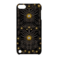 Lace Of Pearls In The Earth Galaxy Pop Art Apple Ipod Touch 5 Hardshell Case With Stand by pepitasart