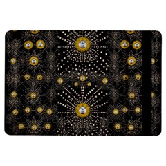 Lace Of Pearls In The Earth Galaxy Pop Art Ipad Air Flip by pepitasart