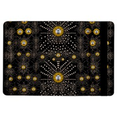 Lace Of Pearls In The Earth Galaxy Pop Art Ipad Air 2 Flip by pepitasart