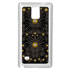 Lace Of Pearls In The Earth Galaxy Pop Art Samsung Galaxy Note 4 Case (white) by pepitasart