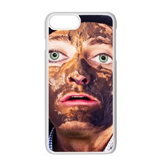 Shitfaced Apple Iphone 7 Plus White Seamless Case by RakeClag