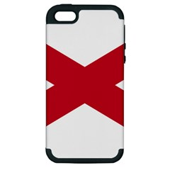 St  Patrick s Saltire Of Ireland Apple Iphone 5 Hardshell Case (pc+silicone) by abbeyz71