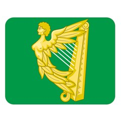 The Green Harp Flag Of Ireland (1642 1916) Double Sided Flano Blanket (large)  by abbeyz71