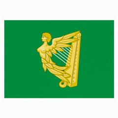 The Green Harp Flag Of Ireland (1642 1916) Large Glasses Cloth by abbeyz71