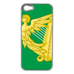 The Green Harp Flag Of Ireland (1642 1916) Apple Iphone 5 Case (silver) by abbeyz71