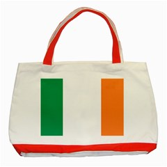Flag Of Ireland  Classic Tote Bag (red) by abbeyz71