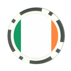 Flag Of Ireland  Poker Chip Card Guard (10 Pack) by abbeyz71
