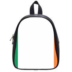 Flag Of Ireland  School Bags (small)  by abbeyz71