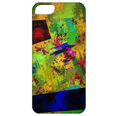 Green Paint       Apple Iphone 5 Hardshell Case (pc+silicone) by LalyLauraFLM