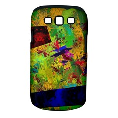 Green paint       Samsung Galaxy S II i9100 Hardshell Case (PC+Silicone) by LalyLauraFLM