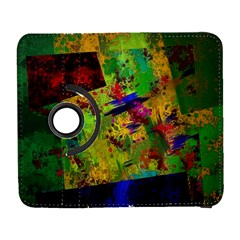 Green Paint       Samsung Galaxy Note Ii Flip 360 Case by LalyLauraFLM