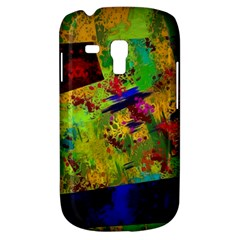 Green paint       Samsung Galaxy Ace Plus S7500 Hardshell Case by LalyLauraFLM