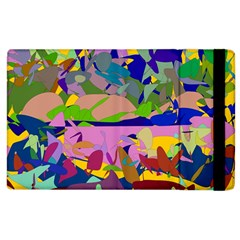 Shapes In Retro Colors        Kindle Fire (1st Gen) Flip Case by LalyLauraFLM