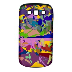 Shapes in retro colors        Samsung Galaxy S II i9100 Hardshell Case (PC+Silicone) by LalyLauraFLM