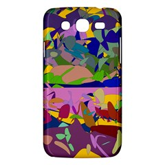 Shapes In Retro Colors        Samsung Galaxy Duos I8262 Hardshell Case by LalyLauraFLM