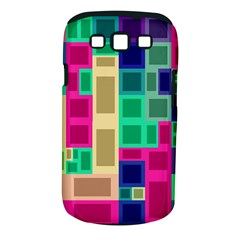 Rectangles and squares        Samsung Galaxy S II i9100 Hardshell Case (PC+Silicone) by LalyLauraFLM