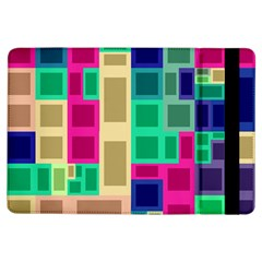Rectangles And Squares        Apple Ipad Mini 2 Flip Case by LalyLauraFLM