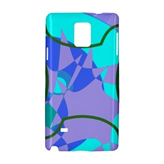 Purple Blue Shapes        Apple Iphone 6 Plus/6s Plus Leather Folio Case by LalyLauraFLM