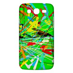 Colorful painting on a green background        Samsung Galaxy Duos I8262 Hardshell Case by LalyLauraFLM