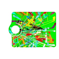 Colorful Painting On A Green Background        Samsung Galaxy Note 3 Soft Edge Hardshell Case by LalyLauraFLM