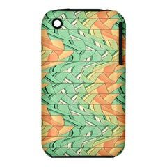 Emerald And Salmon Pattern Iphone 3s/3gs by linceazul