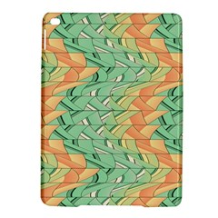 Emerald And Salmon Pattern Ipad Air 2 Hardshell Cases by linceazul