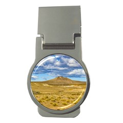 Patagonian Landscape Scene, Argentina Money Clips (round)  by dflcprints