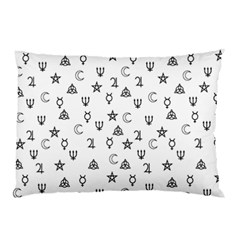 Witchcraft Symbols  Pillow Case (two Sides) by Valentinaart