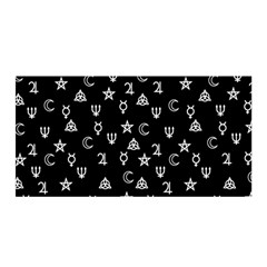 Witchcraft Symbols  Satin Wrap by Valentinaart