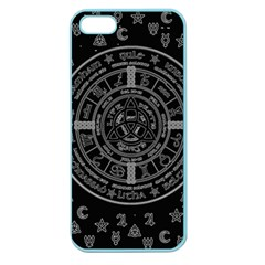 Witchcraft Symbols  Apple Seamless Iphone 5 Case (color) by Valentinaart