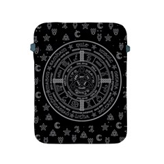 Witchcraft Symbols  Apple Ipad 2/3/4 Protective Soft Cases by Valentinaart