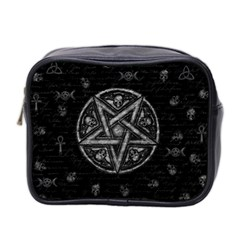 Witchcraft Symbols  Mini Toiletries Bag 2 Side by Valentinaart