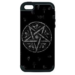 Witchcraft Symbols  Apple Iphone 5 Hardshell Case (pc+silicone) by Valentinaart