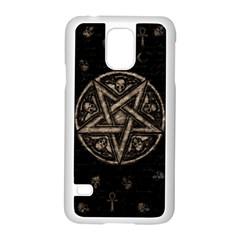 Witchcraft Symbols  Samsung Galaxy S5 Case (white) by Valentinaart